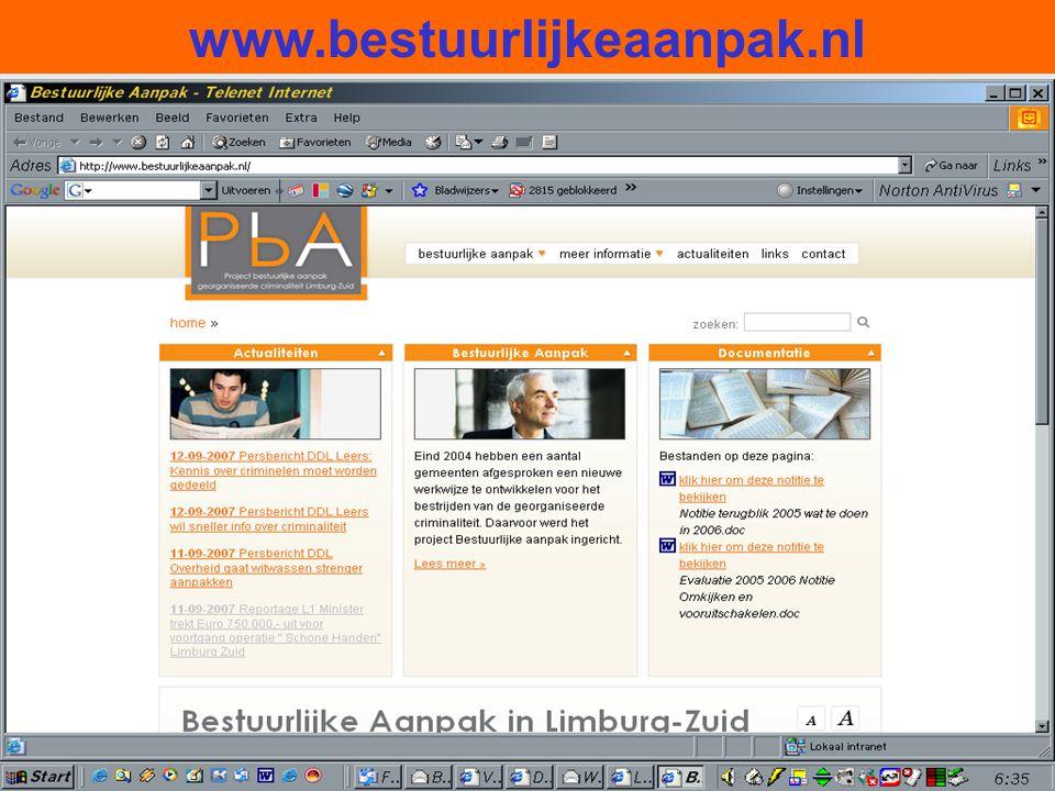 www.bestuurlijkeaanpak.nl