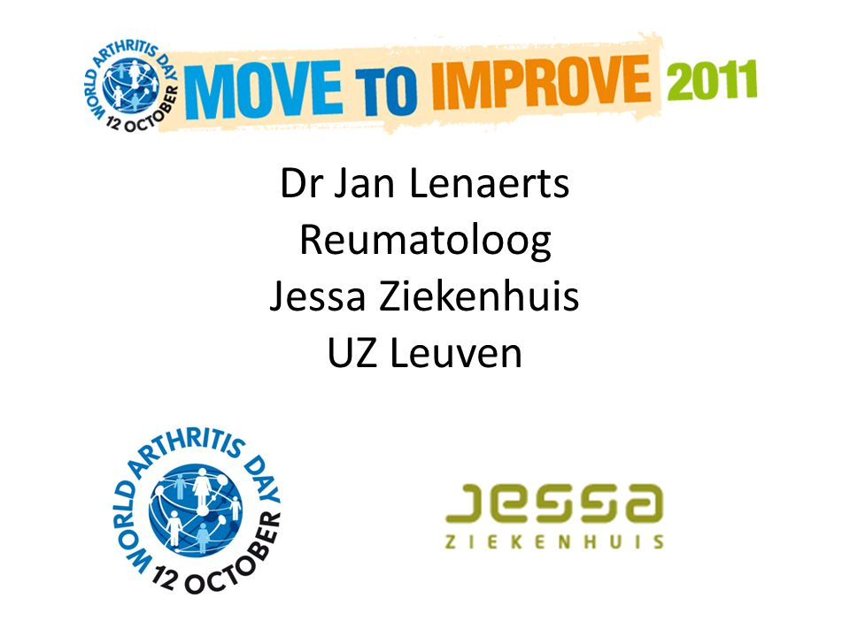 Dr Jan Lenaerts Reumatoloog Jessa Ziekenhuis UZ Leuven
