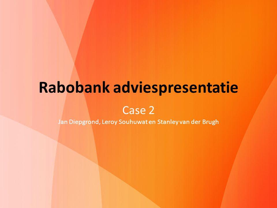 Rabobank adviespresentatie