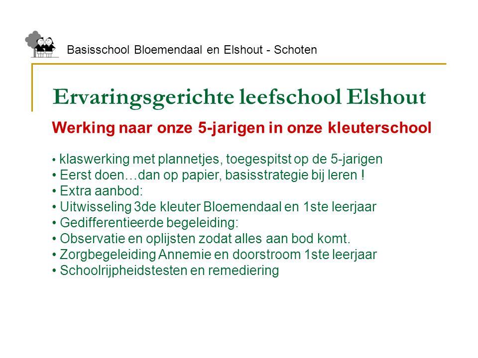 Ervaringsgerichte leefschool Elshout