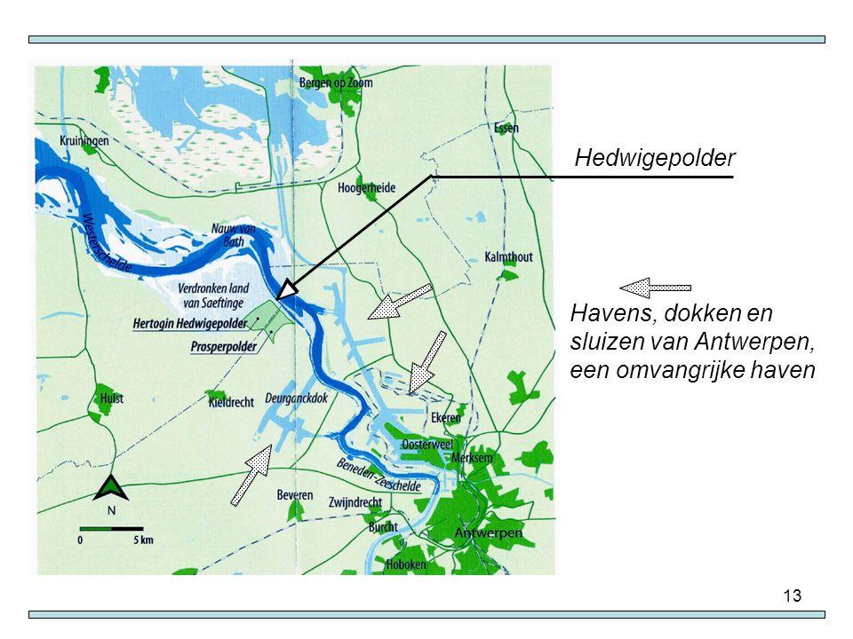 Havens, dokken en sluizen van Antwerpen, een omvangrijke haven