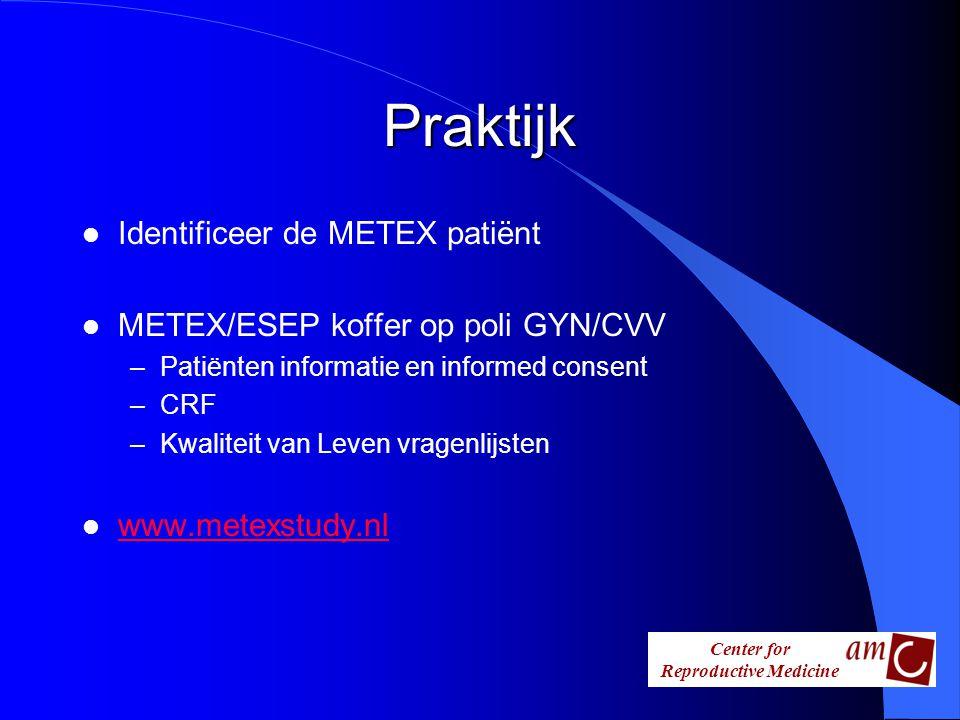Praktijk Identificeer de METEX patiënt