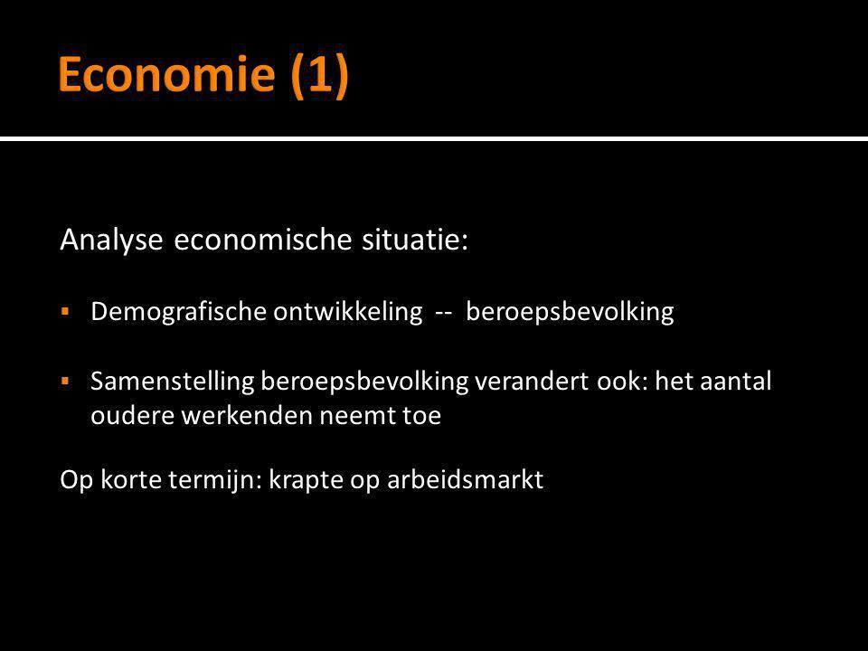 Economie (1) Analyse economische situatie: