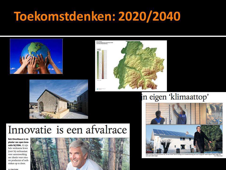 Toekomstdenken: 2020/2040