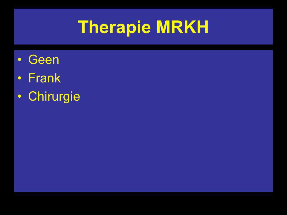 Therapie MRKH Geen Frank Chirurgie