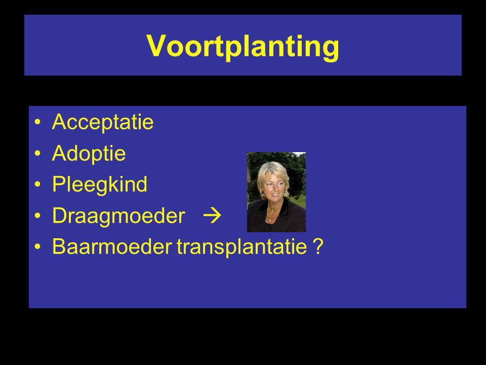 Voortplanting Acceptatie Adoptie Pleegkind Draagmoeder 