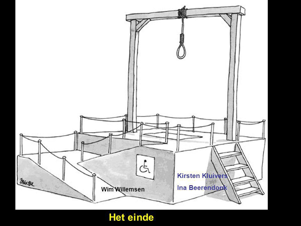Kirsten Kluivers Ina Beerendonk Wim Willemsen Het einde