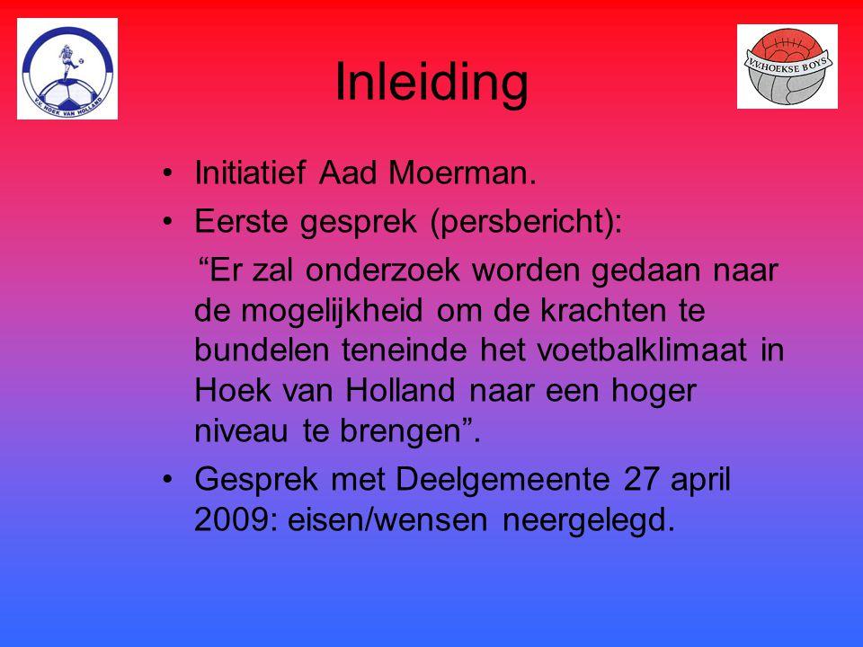 Inleiding Initiatief Aad Moerman. Eerste gesprek (persbericht):