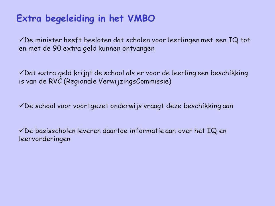 Extra begeleiding in het VMBO