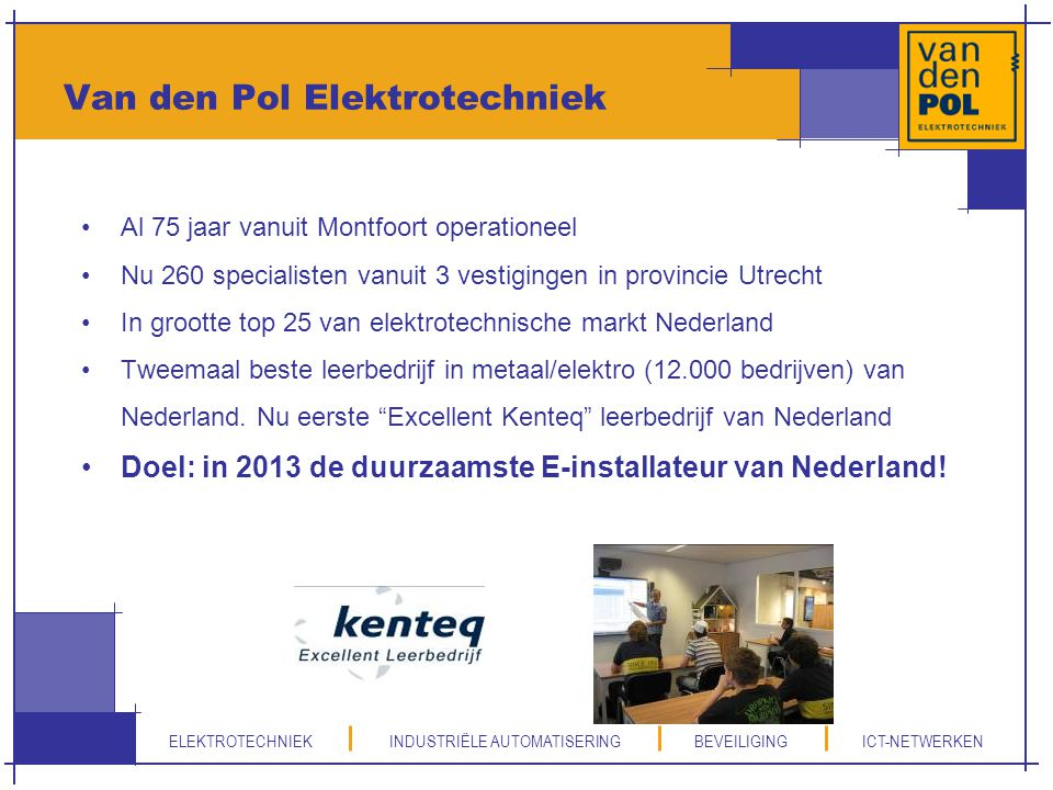 Van den Pol Elektrotechniek