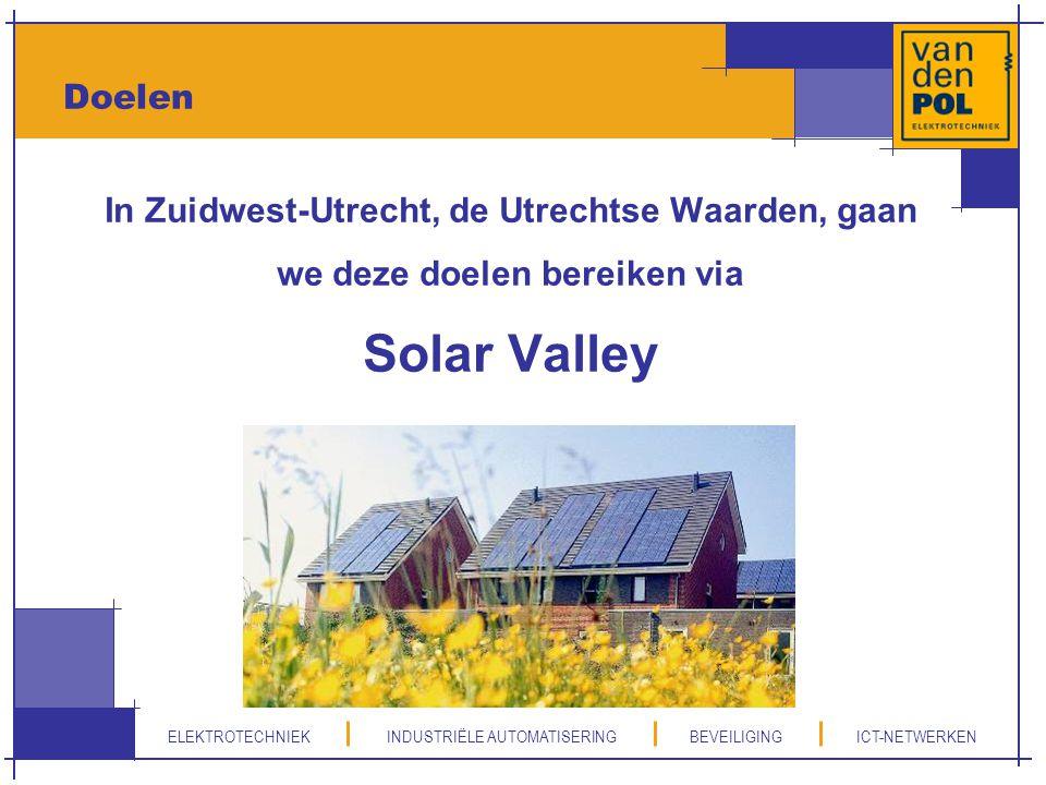 Solar Valley Doelen In Zuidwest-Utrecht, de Utrechtse Waarden, gaan