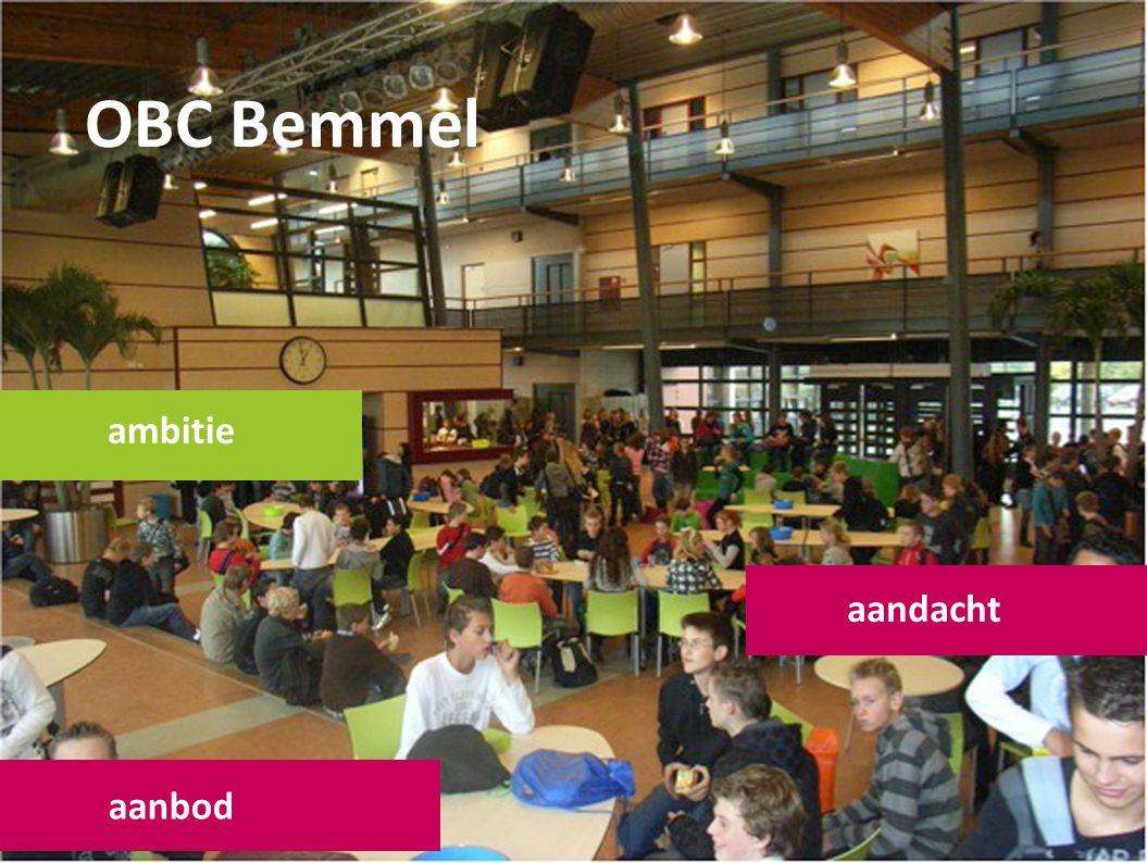 OBC Bemmel ambitie aandacht aanbod
