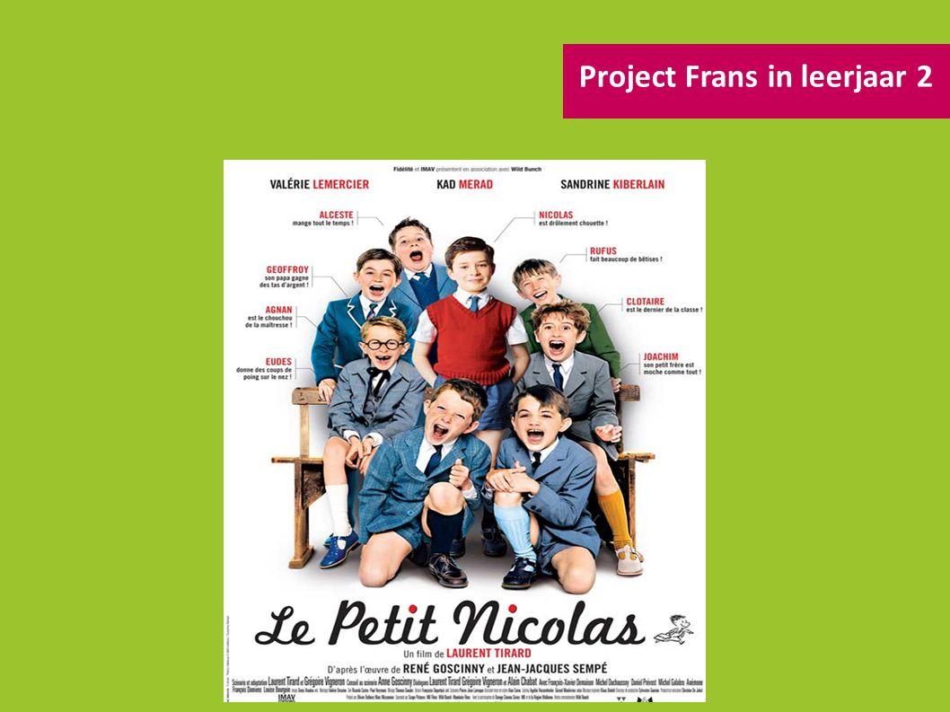 Project Frans in leerjaar 2