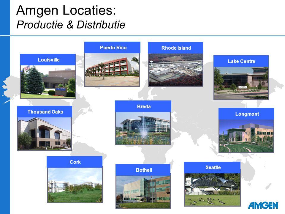 Amgen Locaties: Productie & Distributie