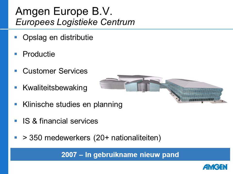 Amgen Europe B.V. Europees Logistieke Centrum