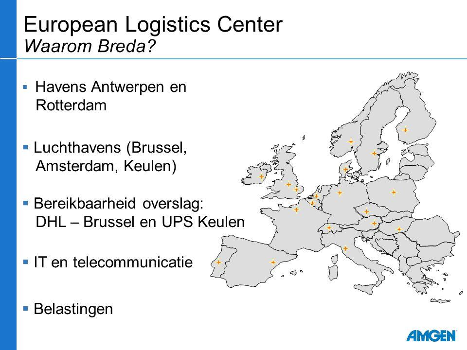 European Logistics Center Waarom Breda