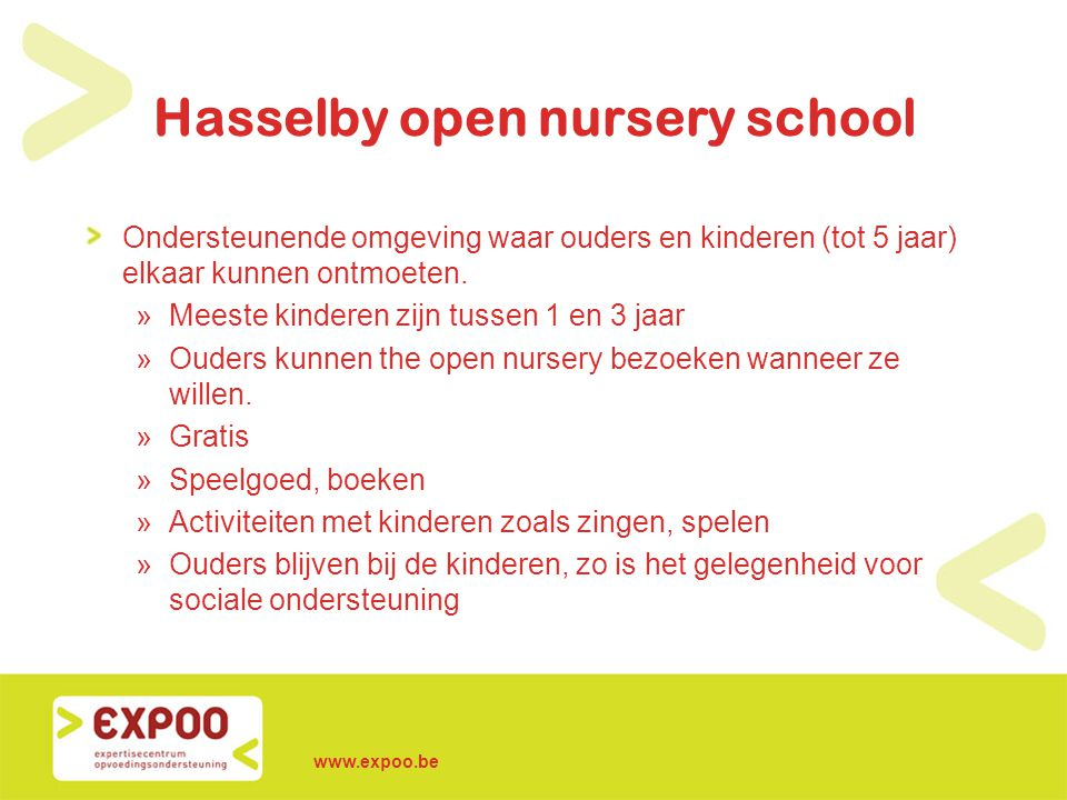 Hasselby open nursery school