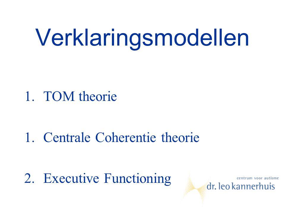Verklaringsmodellen TOM theorie Centrale Coherentie theorie