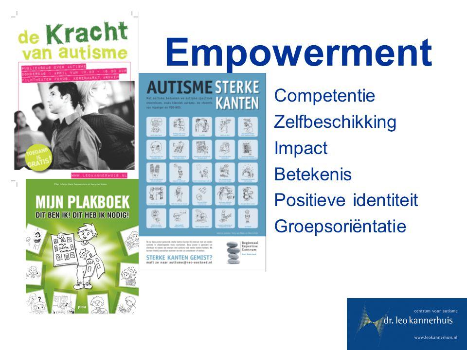 Empowerment Competentie Zelfbeschikking Impact Betekenis