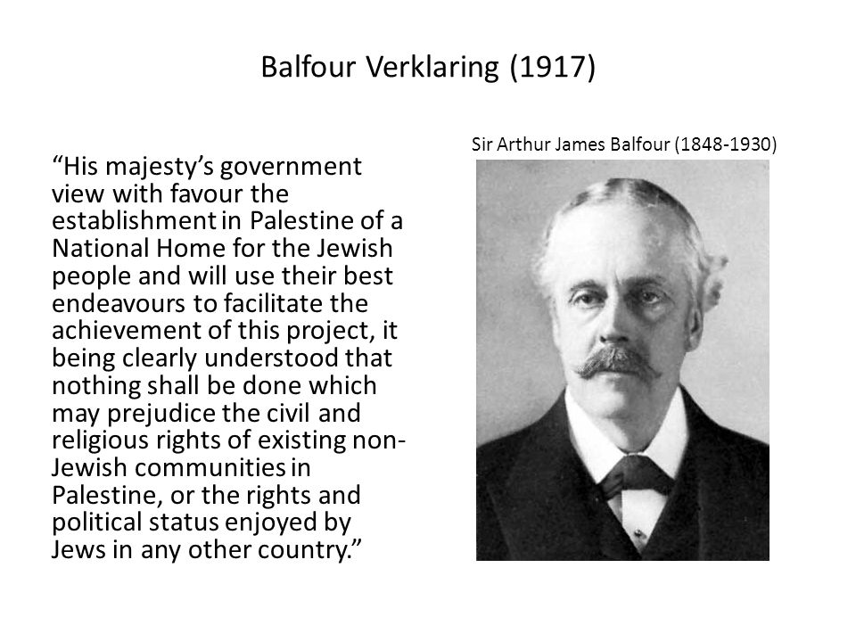 Sir Arthur James Balfour (1848-1930)