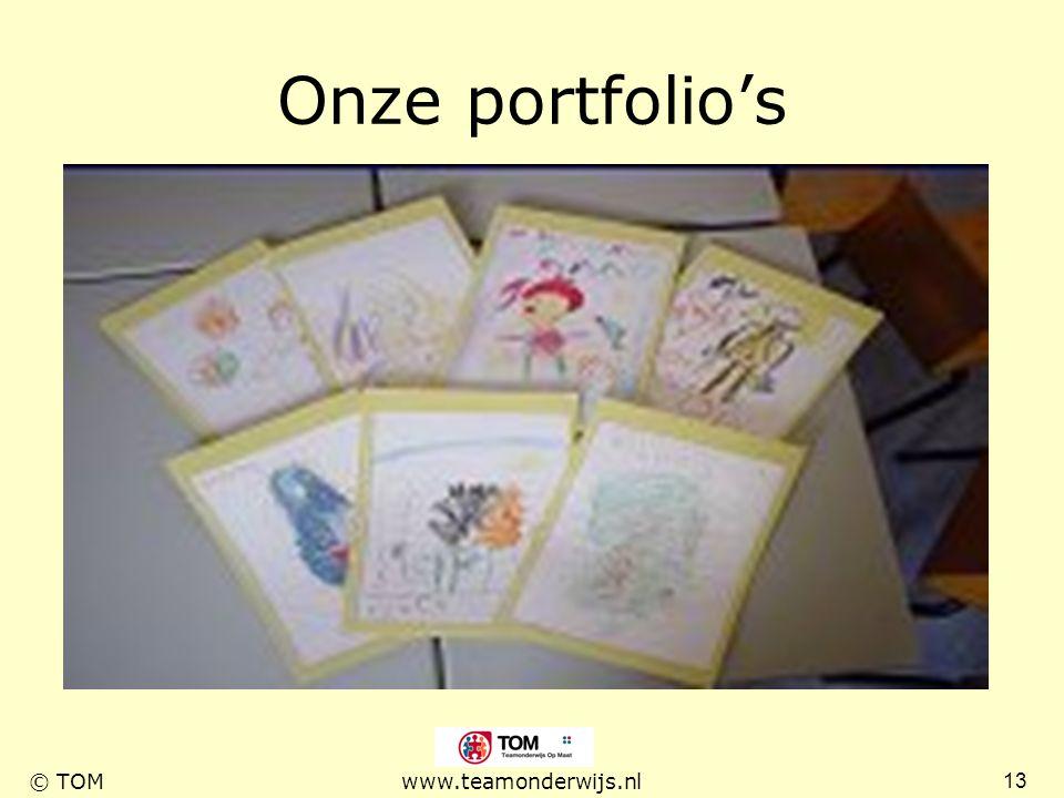 Onze portfolio's