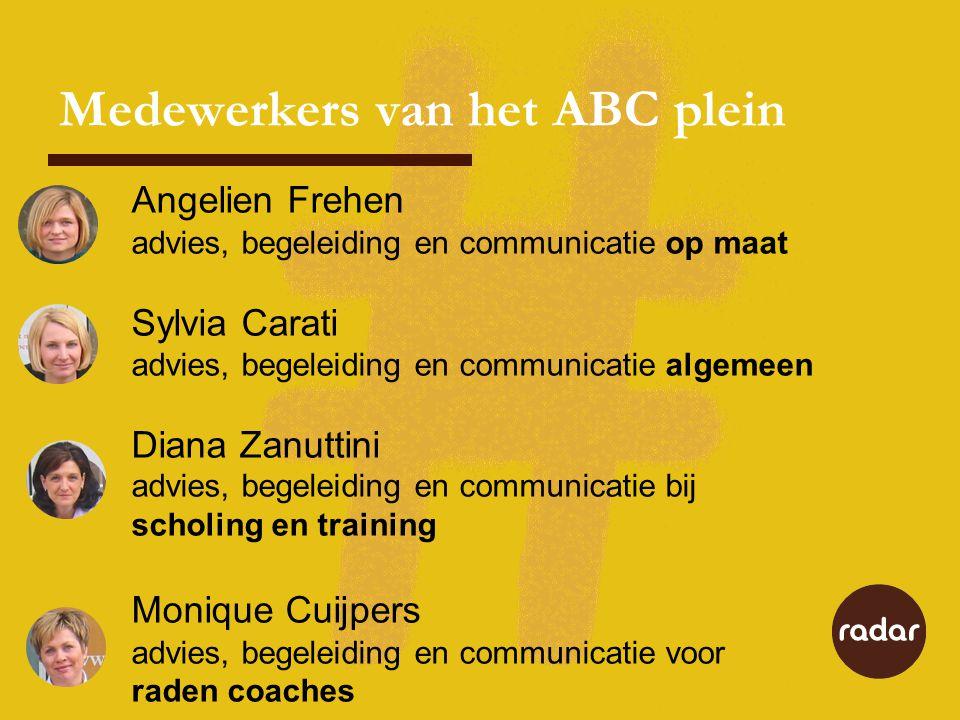 Medewerkers van het ABC plein