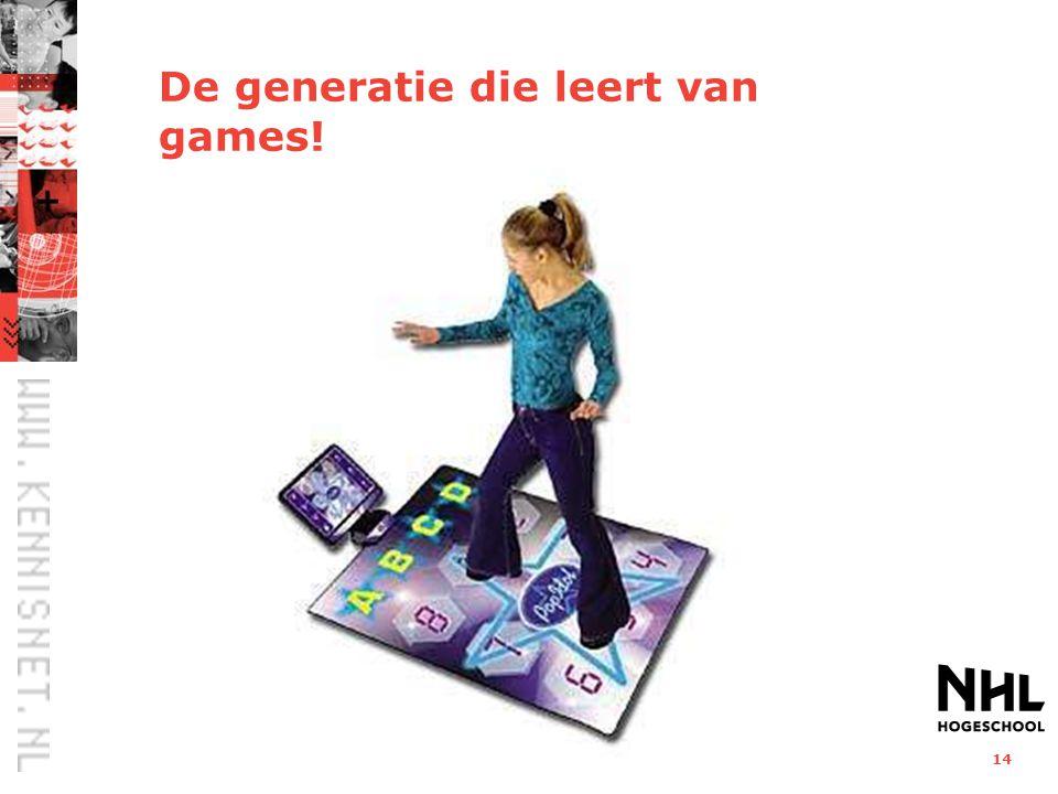 De generatie die leert van games!