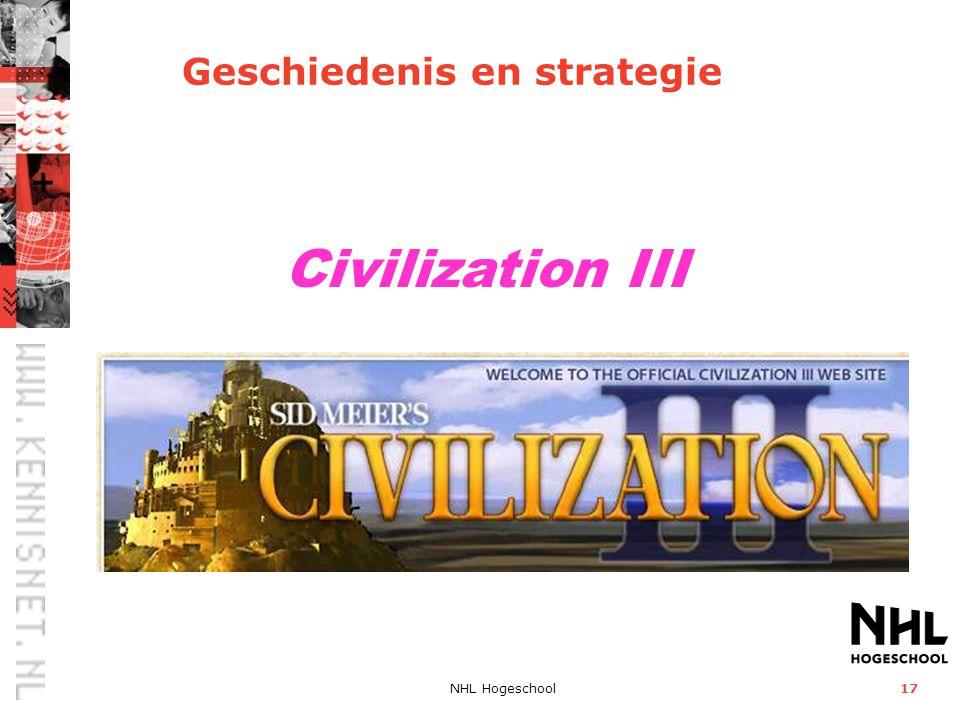 Geschiedenis en strategie