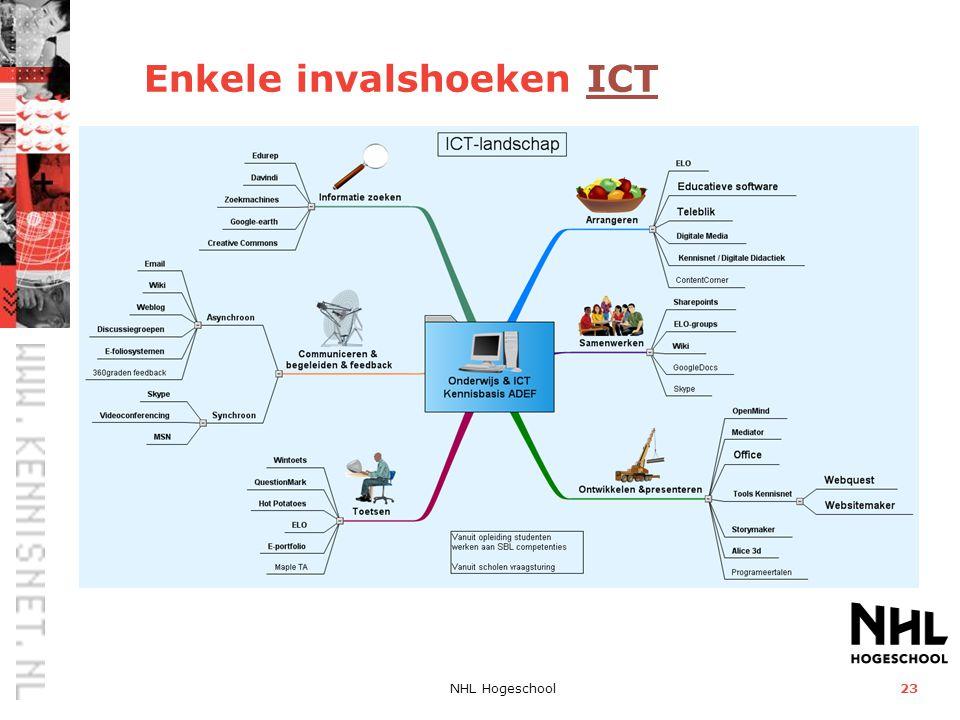 Enkele invalshoeken ICT