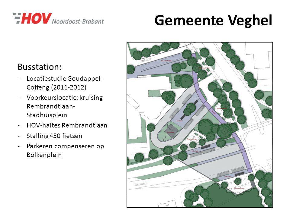 Gemeente Veghel Busstation: