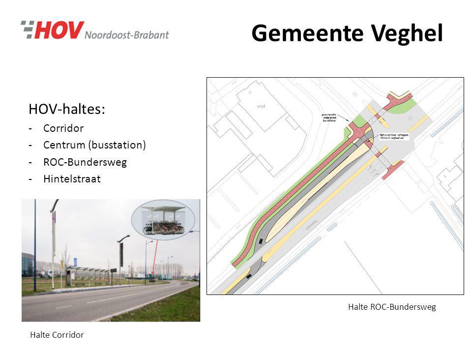 Gemeente Veghel HOV-haltes: Corridor Centrum (busstation)