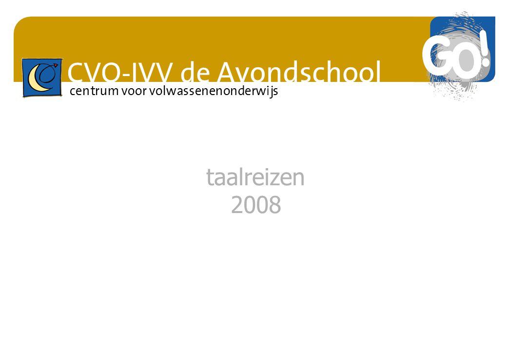 taalreizen 2008