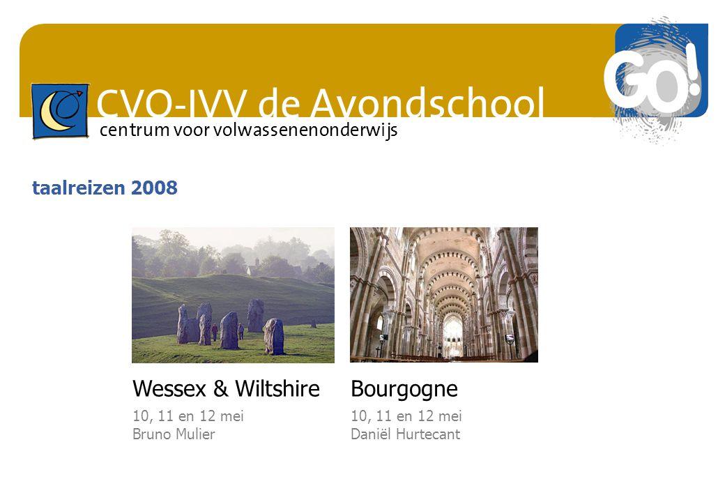 Wessex & Wiltshire Bourgogne taalreizen 2008 10, 11 en 12 mei