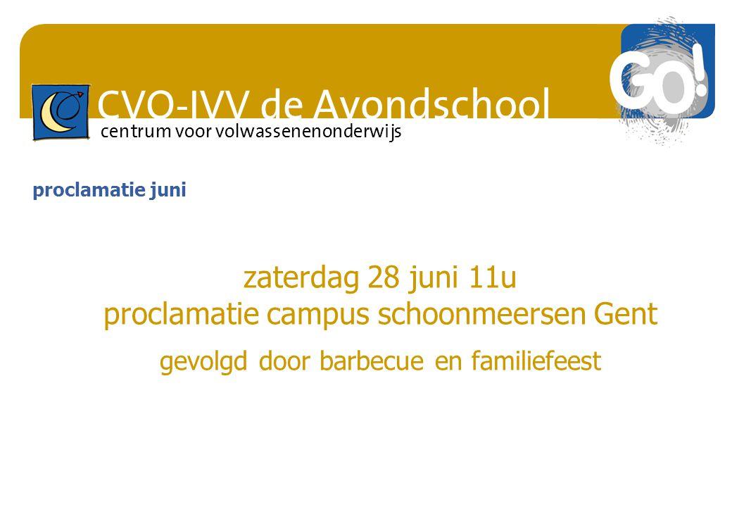 proclamatie campus schoonmeersen Gent