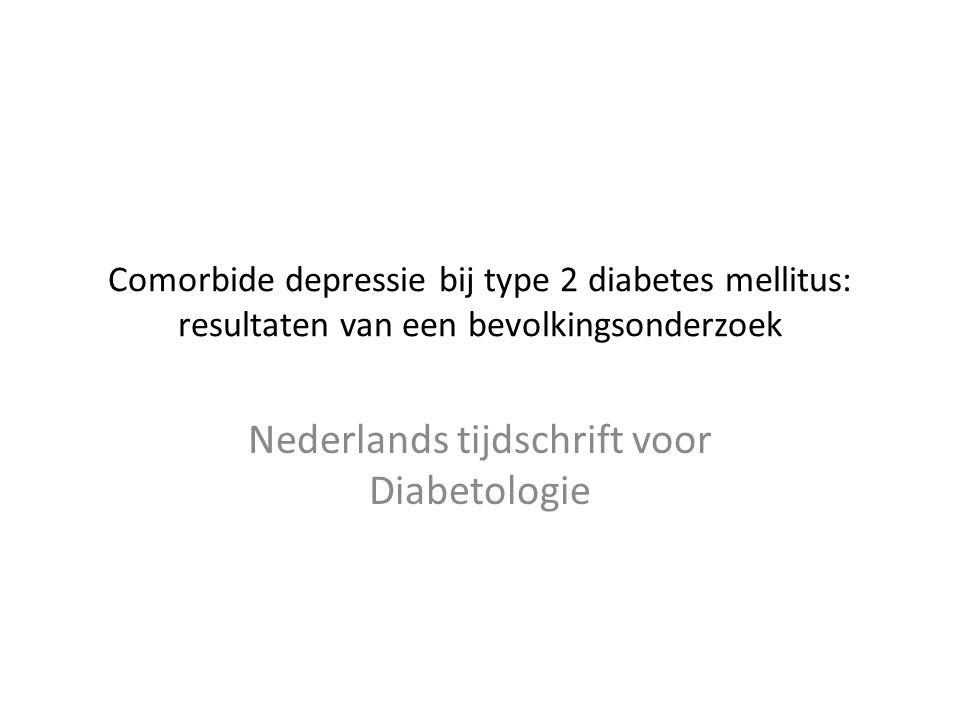 Nederlands tijdschrift voor Diabetologie