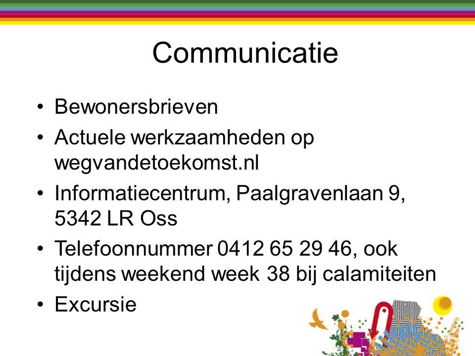 Communicatie Bewonersbrieven