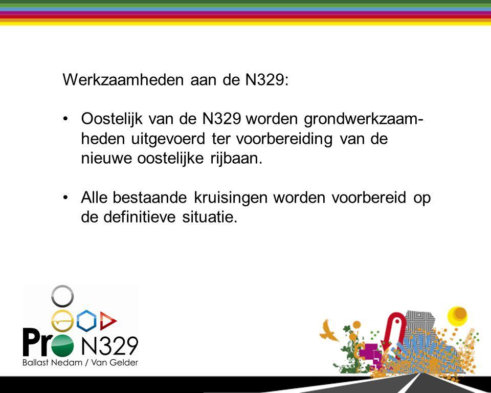 Werkzaamheden aan de N329: