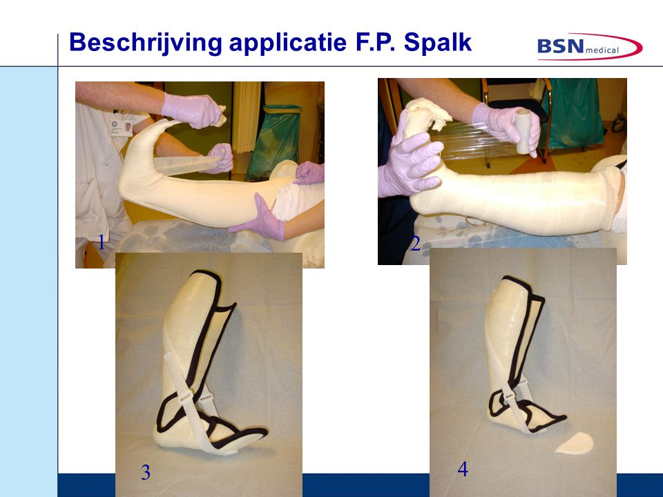 Beschrijving applicatie F.P. Spalk
