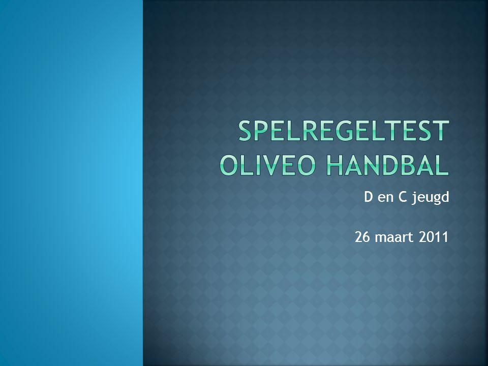 Spelregeltest Oliveo Handbal