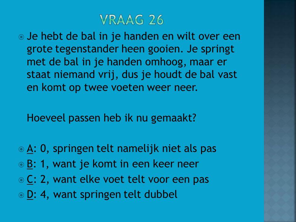 Vraag 26
