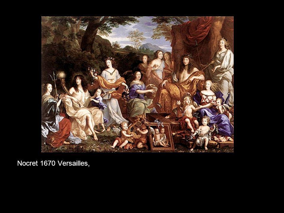 Nocret 1670 Versailles,