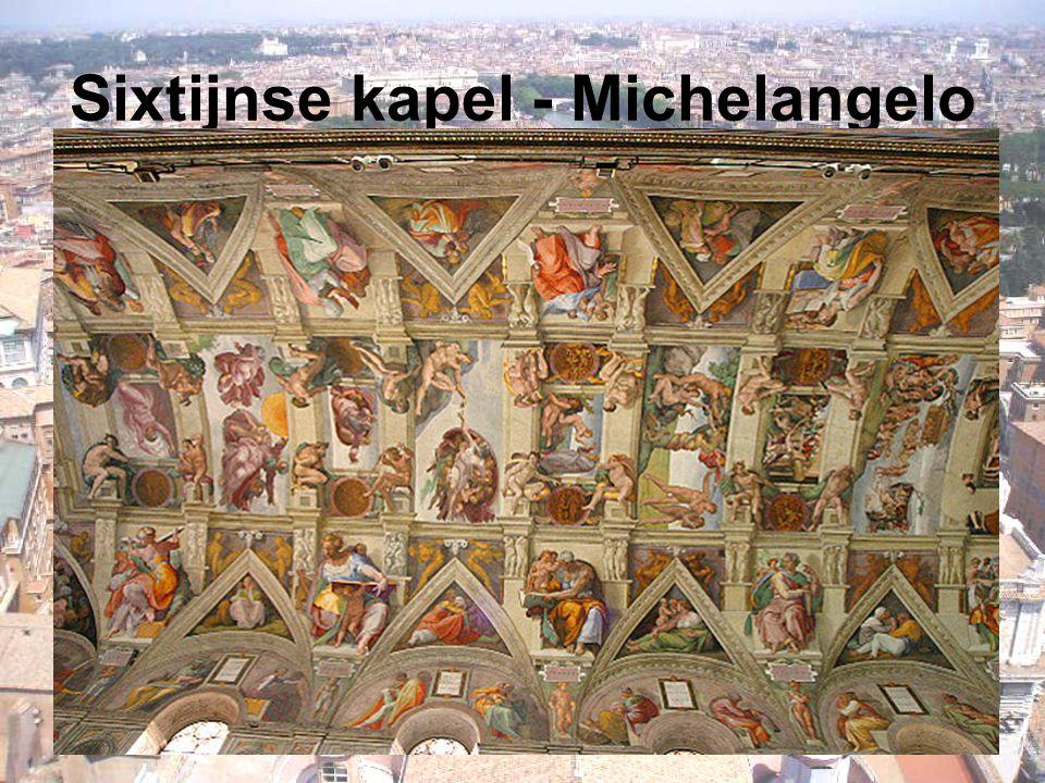 Sixtijnse kapel - Michelangelo