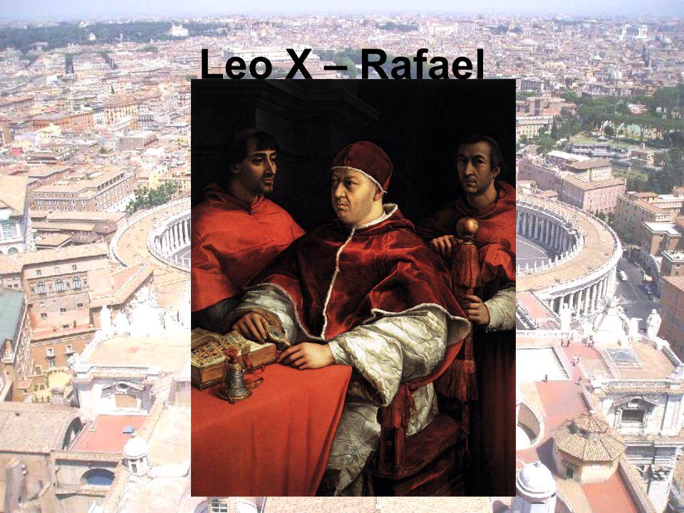Leo X – Rafael
