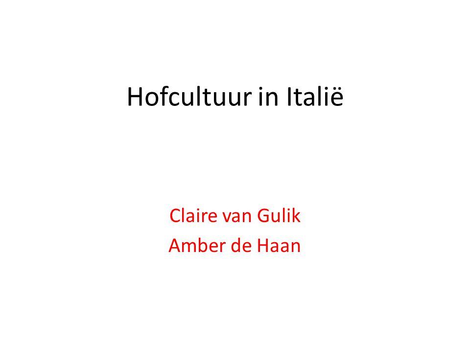 Claire van Gulik Amber de Haan
