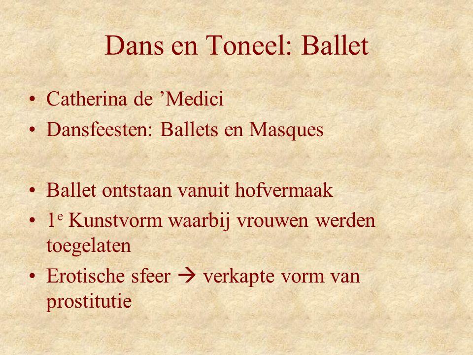 Dans en Toneel: Ballet Catherina de 'Medici