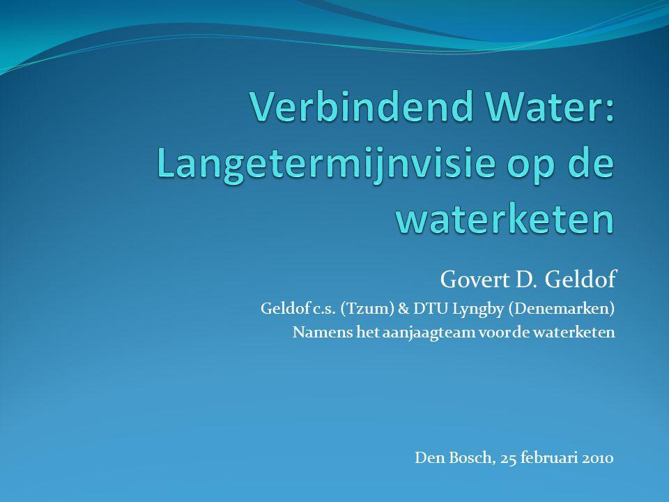 Verbindend Water: Langetermijnvisie op de waterketen
