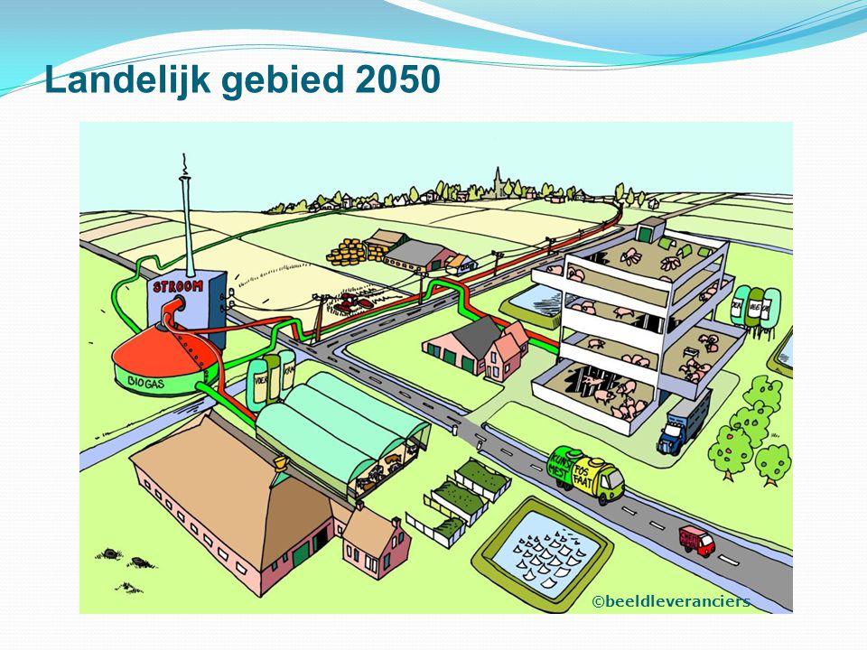 Landelijk gebied 2050 Wisselwerking stad en platteland