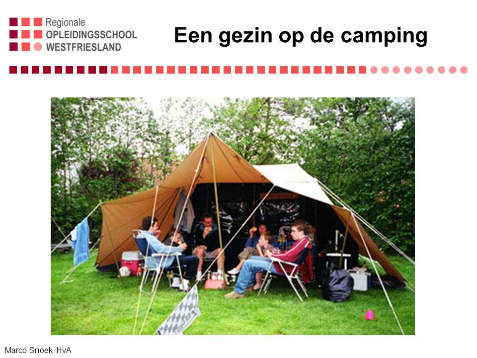 Een gezin op de camping Marco Snoek, HvA
