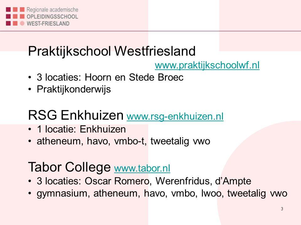 Praktijkschool Westfriesland www.praktijkschoolwf.nl