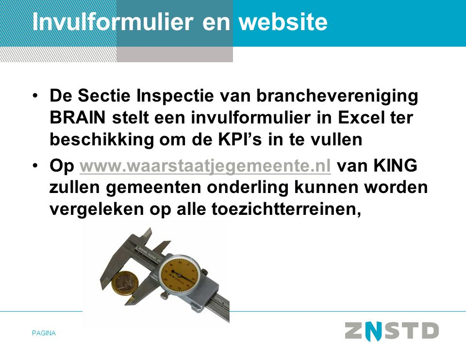 Invulformulier en website